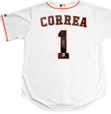 Carlos Correa Autographed Houston Astros Authentic Jersey