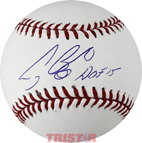 Craig Biggio Autographed Baseball Inscribed HOF 15