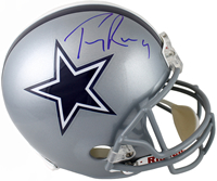 Tony Romo Autographed Dallas Cowboys Full Size Helmet