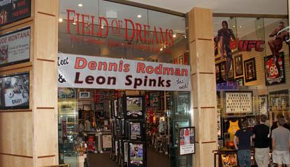 Field of Dreams - The Forum Shops: Caesars Palace, Las Vegas