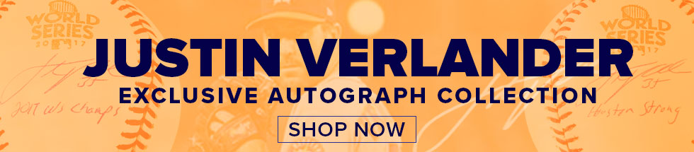 Justin Verlander Exclusive Autograph Collection